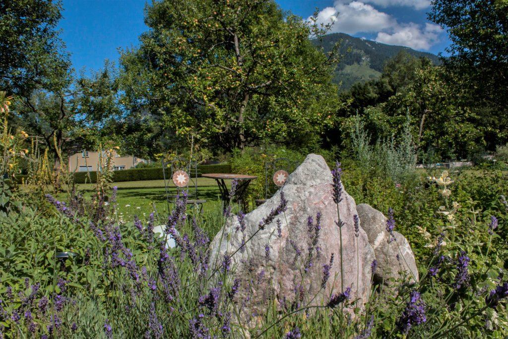 Kräuter und Energiegarten am Fuße des Untersbergs
